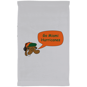 JimmyRay Miami Hurricanes Towel