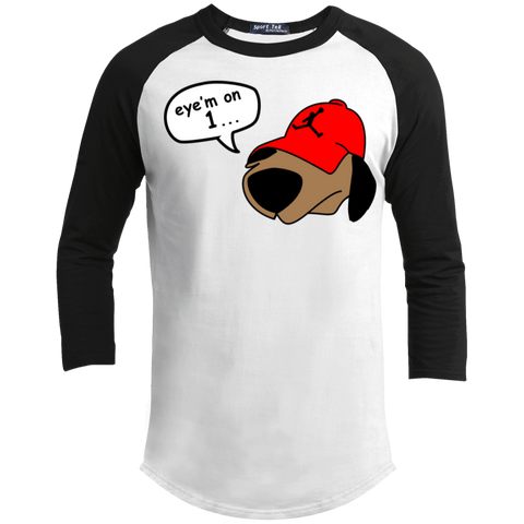 JimmyRay Eye'm On 1 Baseball Tee