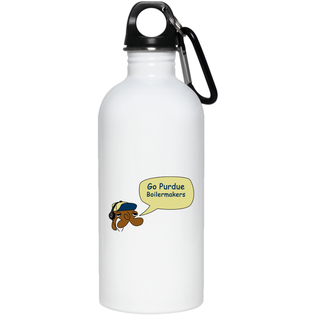 JimmyRay Purdue Boilermakers 20 oz. Stainless Steel Water Bottle