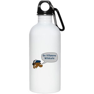 JimmyRay Villanova Wildcats 20 oz. Stainless Steel Water Bottle