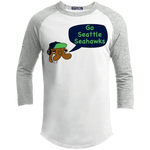 JimmyRay Seattle Seahawks Baseball Tee