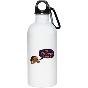 JimmyRay Chicago Bears 20 oz. Stainless Steel Water Bottle