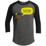 JimmyRay Michigan Wolverines Baseball Tee