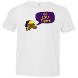 Jimmyraynemkids LSU Tigers Toddler Jersey T-Shirt