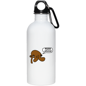 JimmyRay Mane Shiiiid 20 oz. Stainless Steel Water Bottle