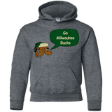 Jimmyraynemkids Milwaukee Bucks Youth Pullover Hoodie