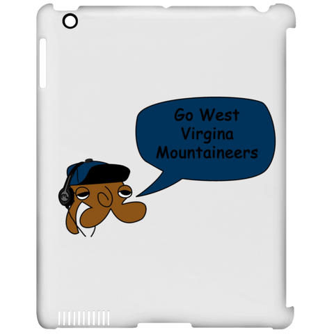 JimmyRay West Virgina Mountaineers iPad Clip Case