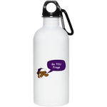 TCU Frogs 20 oz. Stainless Steel Water Bottle