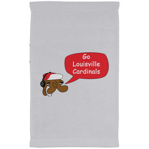 JimmyRay Louisville Cardinals Towel
