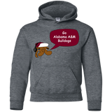Jimmyraynemkids Alabama A&M Bulldogs Youth Pullover Hoodie