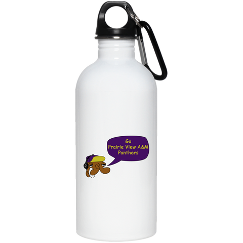 JimmyRay Prairie View A&M Panthers 20 oz. Stainless Steel Water Bottle