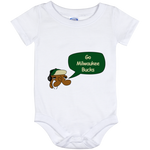 Jimmyraynemkids Milwaukee Bucks Baby Onesie 12 Month