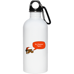 JimmyRay Clemson Tigers 20 oz. Stainless Steel Water Bottle