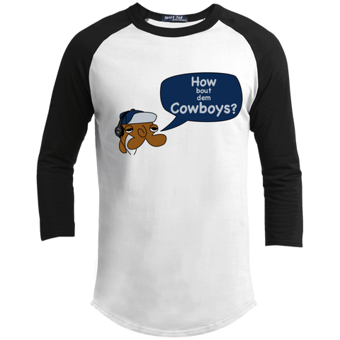JimmyRay How Bout Dem Cowboys Baseball Tee