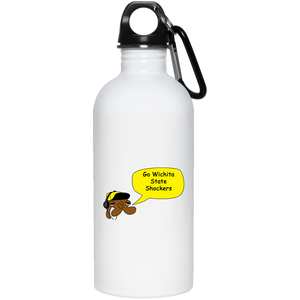 JimmyRay Wichita State Shockers 20 oz. Stainless Steel Water Bottle