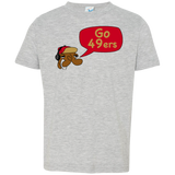 Jimmyraynemkids San Francisco 49ers Toddler Jersey T-Shirt