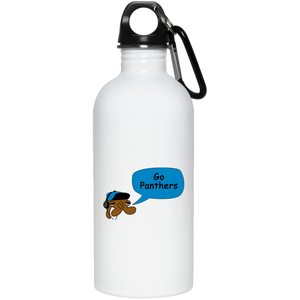 JimmyRay Carolina Panthers 20 oz. Stainless Steel Water Bottle
