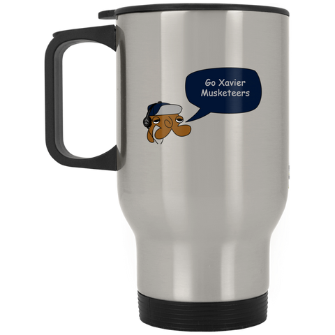 JimmyRay Xaiver Musketeers Travel Mug