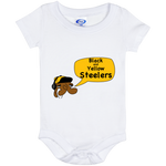 Jimmyraynemkids Pittsburgh Steelers Baby Onesie 6 Month