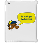 JimmyRay Michigan Wolverines  iPad Clip Case