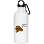 JimmyRay Qwit Flag'n 20 oz. Stainless Steel Water Bottle