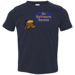 JimmyRay Baltimore Ravens Toddler Jersey T-Shirt