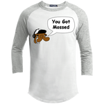 You Got Mossed Baseball Tee