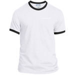 Clarksvegas White Left side Ringer Tee