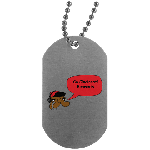 JimmyRay Cincinnati Bearcats Dog Tag