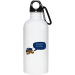 JimmyRay Memphis Grizzles 20 oz. Stainless Steel Water Bottle