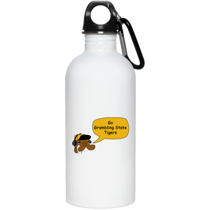 JimmyRay Grambling State Tigers 20 oz. Stainless Steel Water Bottle