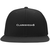 Clarksvegas Black/White Flexfit Cap
