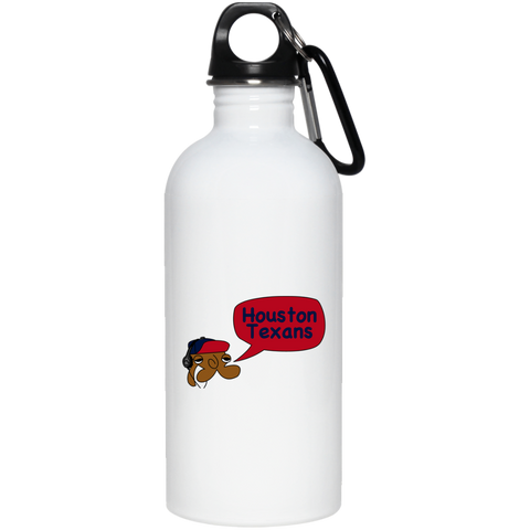 JimmyRay Houston Texans 20 oz. Stainless Steel Water Bottle