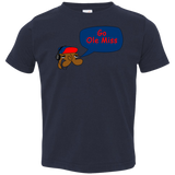 Jimmyraynemkids Ole Miss Toddler Jersey T-Shirt