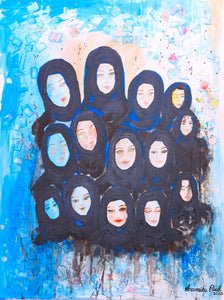 Oneness - Painting on Emirati Culture