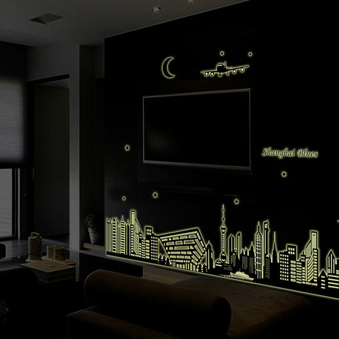 Wall Stickers Living Home Decor For Kids Rooms glow in the dark Home Decor Mural Decal