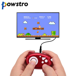 Powstro 8 Bit Retro TV Game Mini Console Player Plug 89 Classic Games Support TV Output Plug & Play Game Player Best Gift