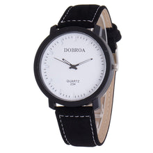 Luxury Men's Leather Watch