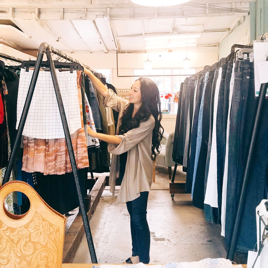 Consignment Shopping is a fantastic alternative to Fast Fashion