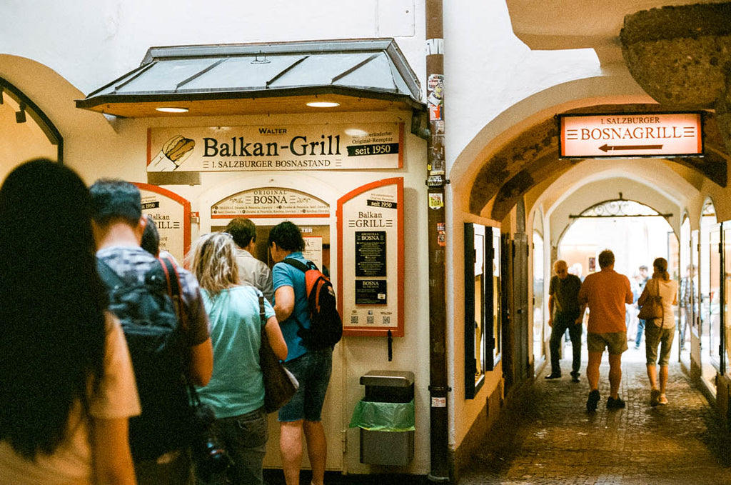 Balkan Grill Walter Places to Eat in Salzburg Austria