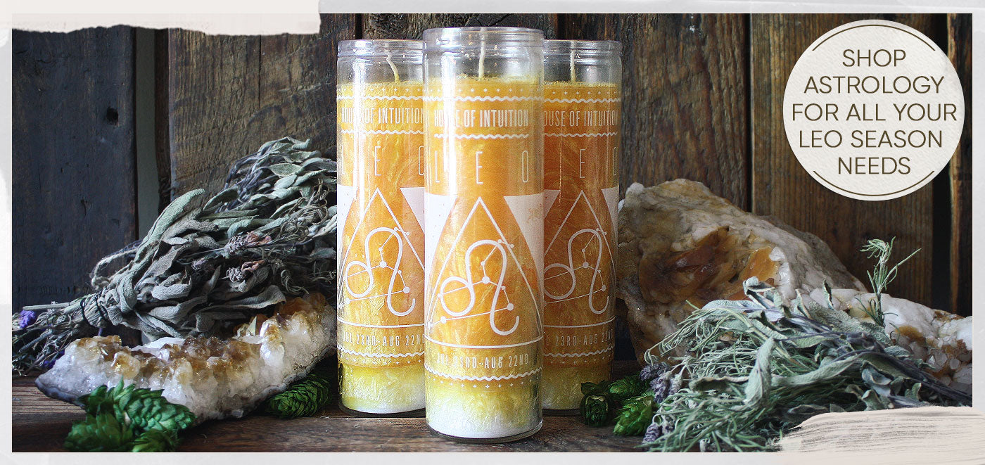 Leo Candle - Astrology Collection