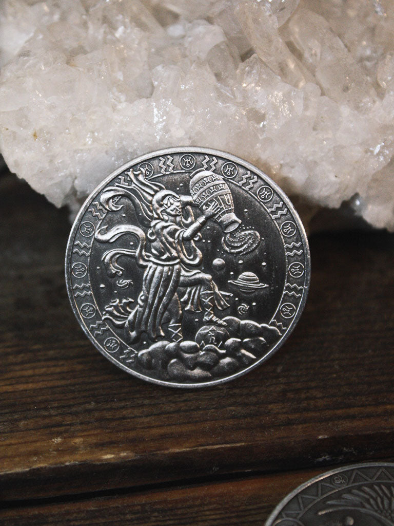 Zodiac Astrological Pocket Coins