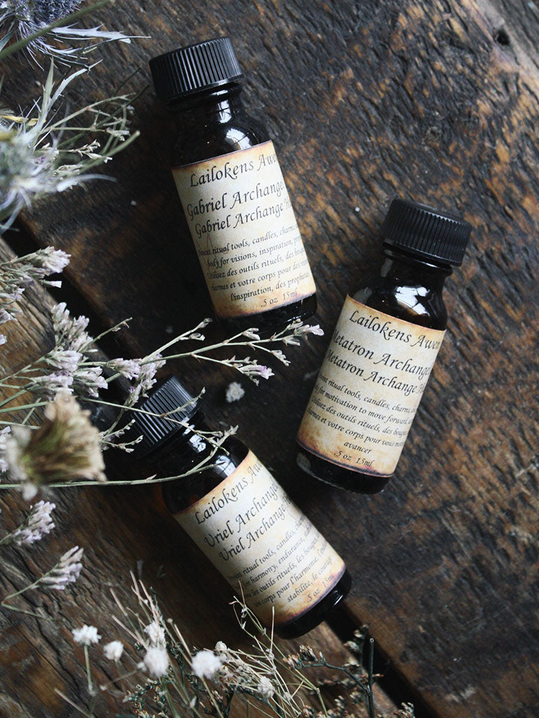 Organic Anointing Oil - Archangel Uriel
