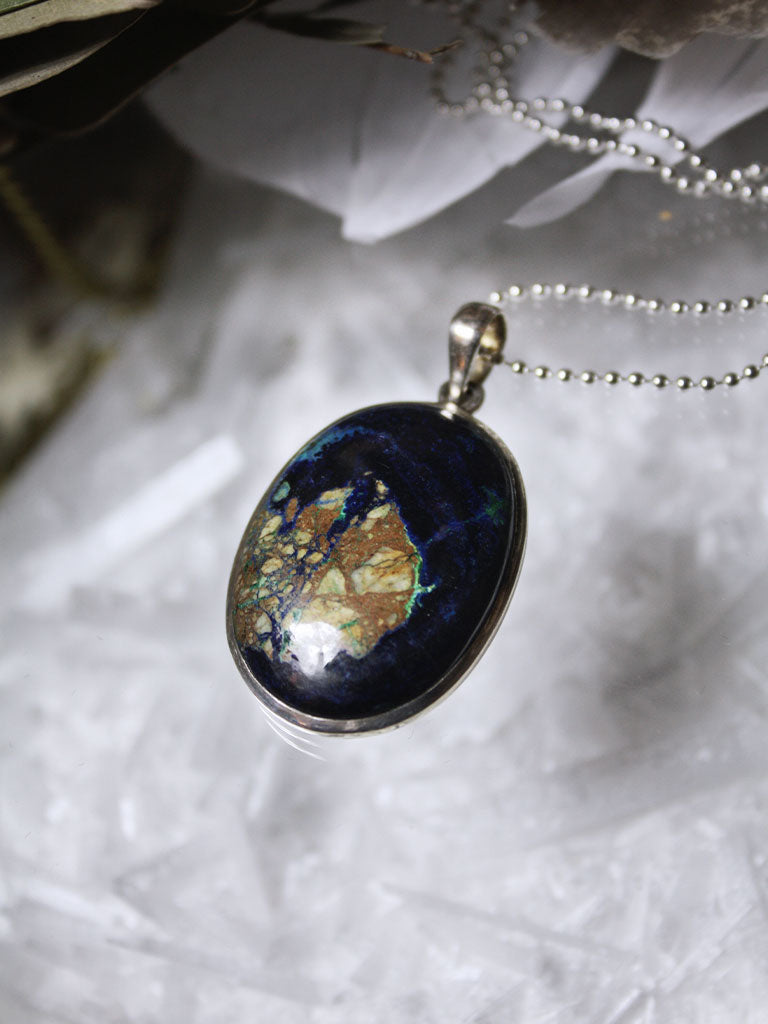 Azurite Necklace - N138