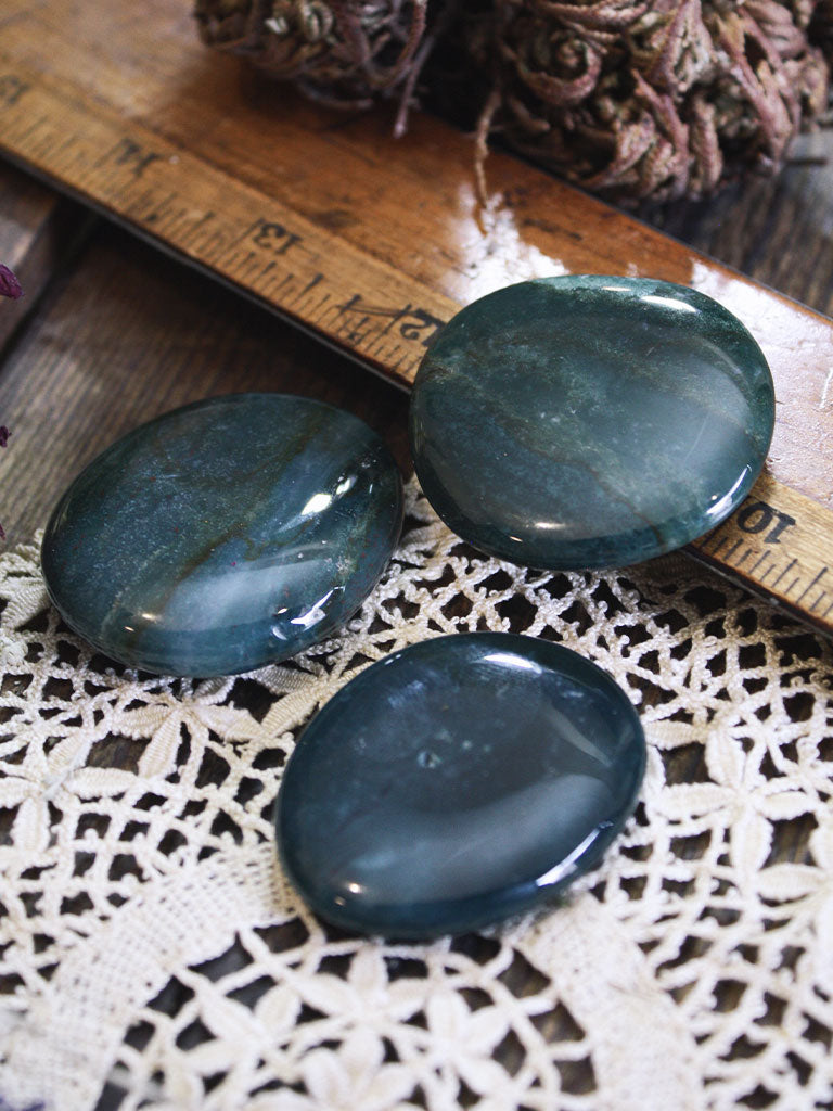 Bloodstone Pocket Stones