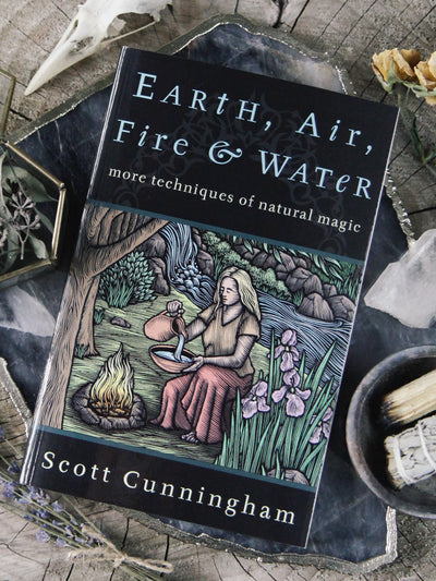 Earth, Air, Fire + Water Book