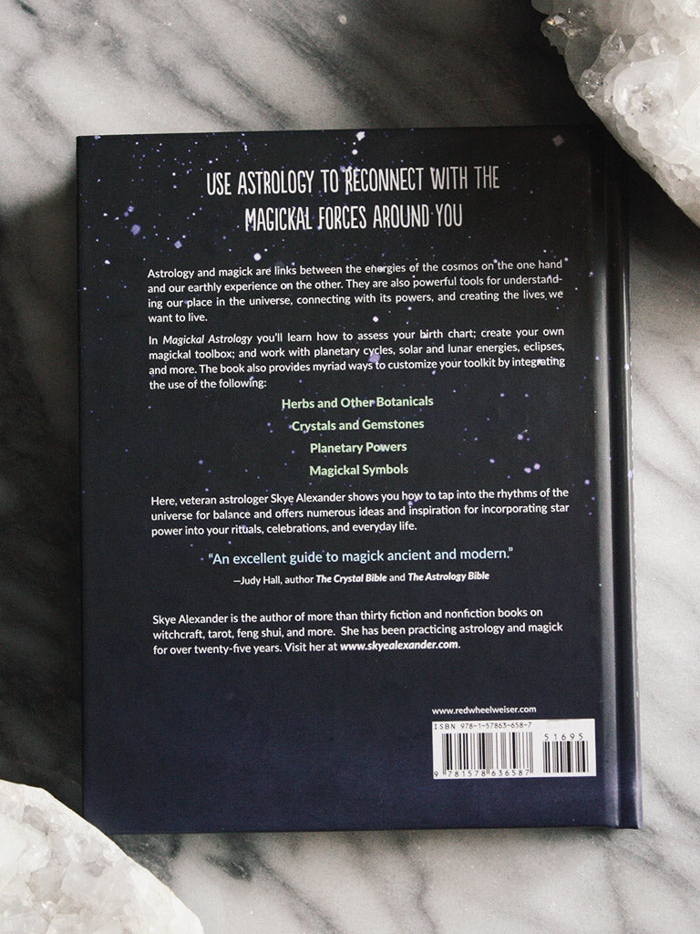 Magickal Astrology Book