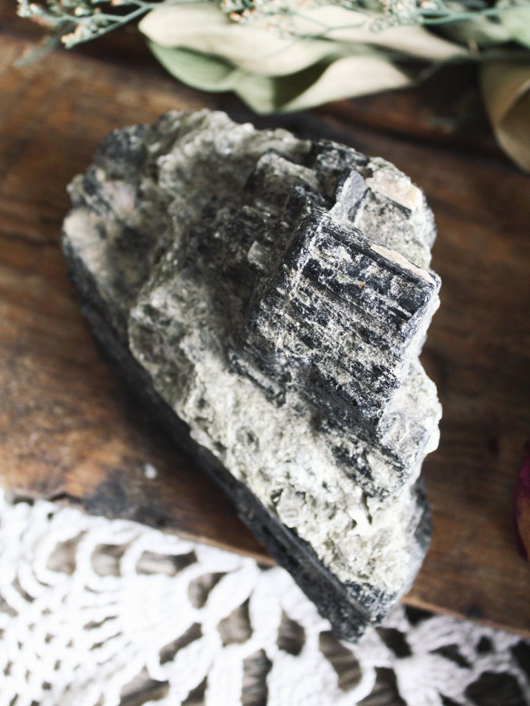 Large Raw Black Tourmaline - C138