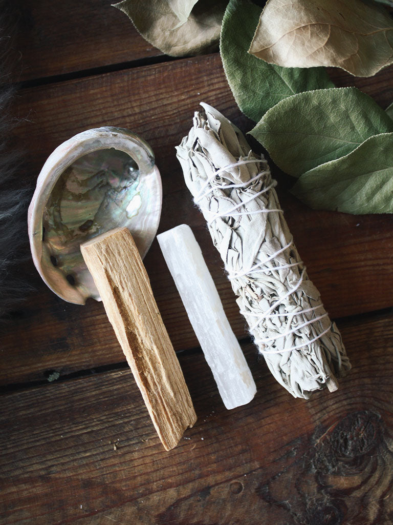 Cleansing Ritual Set in Keepsake Bag