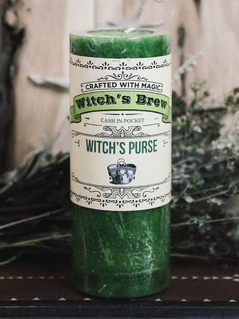 Witch's Purse Candle